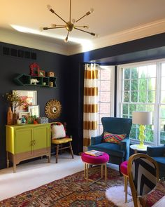 Hannen Matt's Rustic-Glam Home Office {Office Tour