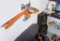 If Its Hip, Its Here: Home Decor That Goes Up To 11. Rock n Roll Furnishings From Rocket Design.