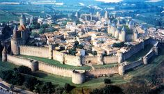 Carcassonne is a French town in the Region of Languedoc-Rousillon.The city is famous for the Cité de Carcassonne, a medieval fortress restored by the theorist and architect Eugène Viollet-le-Duc in 1853 and added to the UNESCO list of World Heritage Sites in 1997