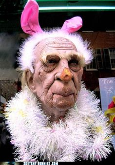 The Best Pictures Of Creepy Easter Bunnies Scaring The Chocolate - 26 creepy easter bunnies