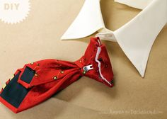 12 Days of Cheer! DIY Christmas Eve Outfit for your Dog via Ammo the Dachshund