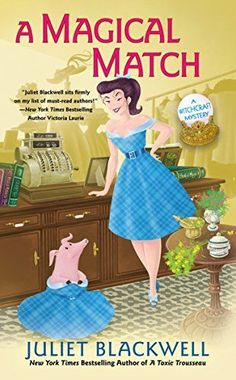A Magical Match (Witchcraft Mystery) by Juliet Blackwell https://smile.amazon.com/dp/B073YTCGL2/ref=cm_sw_r_pi_dp_x_wIMBzbD2VGFS6