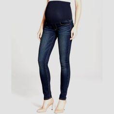 ff601f3aef0ed Mint/EUC Paige A Pea inThe Pod Collection VERDUGO Ultra Skinny Maternity  Jean 26   eBay