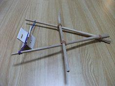 Preschool Crafts for Kids*: Japanese Chopsticks Boat Toy Craft