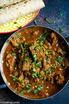 Moist and tender chunks of lamb in a spicy rich curry sauce, all made easy in the Instant Pot. Make this Instant Pot Indian Lamb Curry at home faster than Curry Lamb Chops Recipe, Indian Lamb Chops Recipe, Lamb Curry Stew, Paleo Indian Recipes, Curry Recipes, Healthy Recipes, Paleo Indian Food, Indian Foods, Turkish Recipes