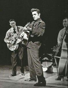 Elvis, Scotty and Bill