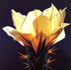 Desert Glow (Oil on Linen) - Artist: Ed Mell