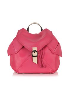 c33ae8cd6faf Carven Plain Peony Leather Backpack Drawstring Backpack