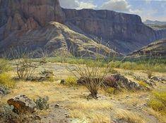 Desert Light by Mark Haworth Oil ~ 30 x 40
