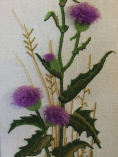 Advanced Embroidery Designs Scottish Thistle Quilt