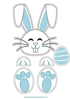Easter Templates, Easter Printables, Easter Activities, Easter Crafts For Kids, About Easter, Baby Embroidery, Diy Christmas Gifts, Easter Baskets, Art For Kids