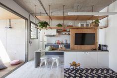 Galeria de Apartamento com partições / Casa100 Arquitetura - 1