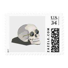 skull stamp - Halloween happyhalloween festival party holiday
