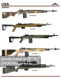 Jim Jokan uploaded this image to See the album on Photobucket. Military Weapons, Weapons Guns, Guns And Ammo, Battle Rifle, Future Weapons, Hunting Rifles, Cool Guns, Assault Rifle, Panzer