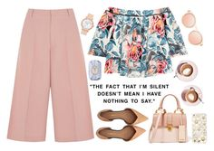 """the quiet girl... "" by emc1397 ❤ liked on Polyvore featuring RED Valentino, Elizabeth and James, 3.1 Phillip Lim, Miu Miu, Fresh, Martha Stewart, offtheshoulder, culottes and christianpaul"