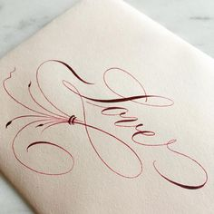 285 mentions J'aime, 21 commentaires - Esther Thiel ( - etiketten - Chemistry Informations Flourish Calligraphy, Calligraphy Drawing, Copperplate Calligraphy, How To Write Calligraphy, Calligraphy Handwriting, Calligraphy Alphabet, Penmanship, Cursive, Tattoo Lettering Fonts