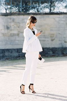 I love the simplicity of this outfit (from Vanessa Jackman)