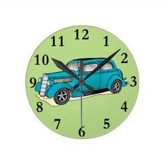 35 Ford Humpback Round Clocks