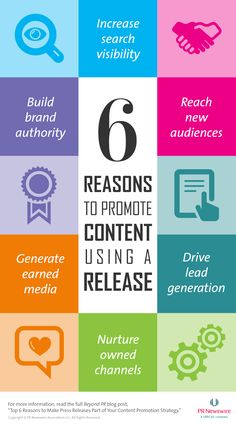The Top 6 Reasons Marketers Should Use Releases to Promote Content