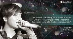 Frases de BIGBANG ~ lulu6002   Frases de Doramas   Frases KPOP   Frases de Libros