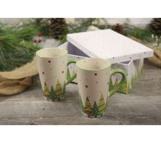 Product image of Temp-tations Set of 2 16oz Mugs with Gift Box