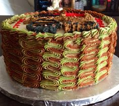 Duck Dynasty Father's Day Cake (side view)