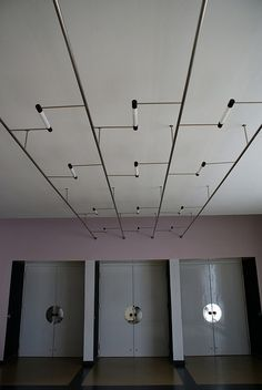 Bauhaus, Dessau light fixtures.
