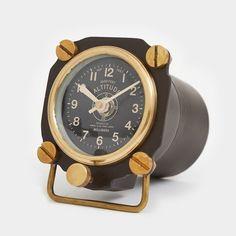 Clock - Altimeter Table Clock
