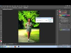 How to Make Background Black and White in Photoshop CS6 - YouTube