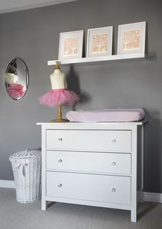 Project Nursery - pink and grey nursery