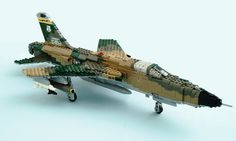 F-105D Thunderchief, via Flickr & The Brothers Brick