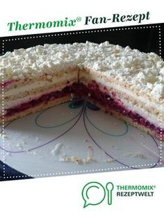 Schneetorte Snow cake from chantal-i. A Thermomix ® recipe from the category baking sweet www.de, the Thermomix ® community. Easy Cooking, Cooking Tips, Snow Cake, Kneading Dough, Thermomix Desserts, Cooking For Beginners, Sweet Cookies, Christmas Cooking, Pampered Chef