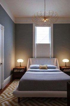 Mid-Century Modern Bedroom-17-1 Kindesign