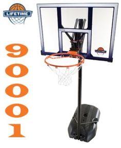 """Stojak do koszykówki 44"""" New York 90000  http://www.lifetimebasketball.pl"""