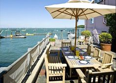 The Old Post Office, Cowes. Perfect place to watch the Cowes Week regatta and fireworks
