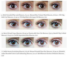 100 Mascaras und 1 Auge: Welche ist die Beste? - Très Click