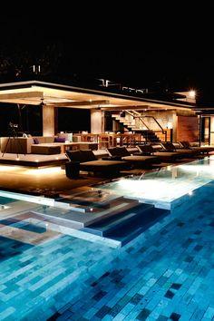 That pool!