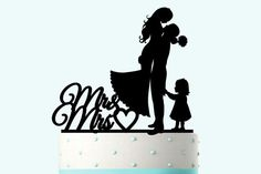 Hey, I found this really awesome Etsy listing at https://www.etsy.com/listing/229088649/wedding-cake-topper-silhouette-groom-and