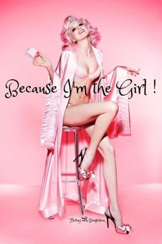 Sometimes we don't need a reason! It's - just because! #Love #pink #lady