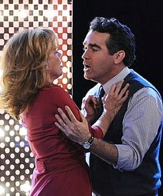 Brian d'Arcy James, Alice Ripley and Kyle Dean Massey perform 'I Am The One' on Good Morning America