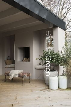 E-mail - Annick Smets - Outlook Pergola Patio, Gazebo, Backyard, Outdoor Rooms, Outdoor Living, Built In Braai, Pavillion, Porch Veranda, Woodland House