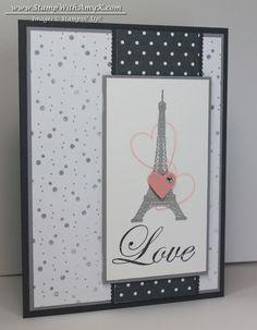 CAS Follow My Heart Love Card - Stampin' Up! & Blog Candy Winner