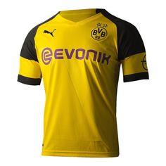 Camisa Borussia Dortmund Home 18 19 s n° - Torcedor Puma Masculina -  Amarelo e Preto - Compre Agora 1cac57210e304