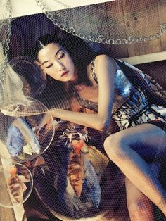 just saw this today - the spread is beautiful. Ji Hye Park by Bosung Kim (One Dream - Vogue Korea June 2012)