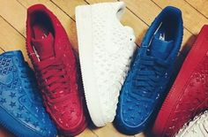Patriotic Air Force 1′s For Independence Day?