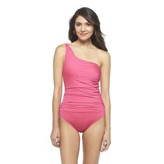 e4916b65d267a Expect More. Pay Less. One Shoulder SwimsuitOne ...