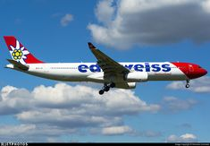 Airbus A330, Edelweiss, Boeing 747 200, Flight Deck, Photo Online, Location, Air Force, Aircraft, Commercial