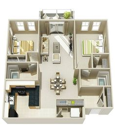 House Plans For Sale image of idea modern four bedroom house plans Find This Pin And More On Desain Rumah Minimalist 50 Two Bedroom Apartmenthouse Plans