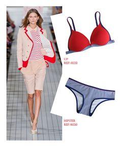 O navy não sai de moda nunca. Veja como repaginar esse estilo com dicas e inspirações da In.Joy: http://www.injoyunders.com.br/