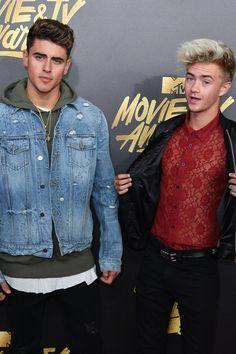 Jack & Jack at the 2017 MTV Movie & TV Awards